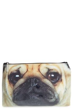 Catseye London 'Pug' Cosmetics Bag available at #Nordstrom