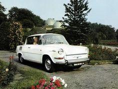 """Škoda 1000 MB """"Embéčko"""" z roku 1964 bylo prvním vozem Škodovky s motorem za zadní nápravou"""
