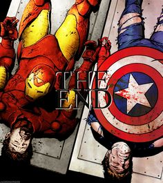 Not everyone gets their happy ending. Sometimes it's just an ending.   (Avengers: Civil War.  Endless sobbing -- this is not OK!!)