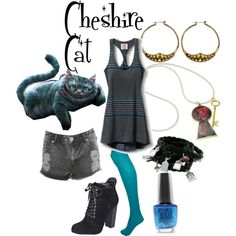 """Cheshire Cat"" by doryishness on Polyvore"
