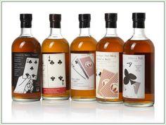 "Rare Japanese Whiskies Go On Auction In Hong Kong: Hanyu Ichiro's Malt ""Card"" single-malt series (clubs) #whisky"