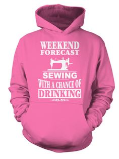 Sewing Weekend Forecast