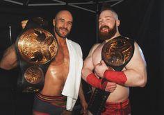 Cesaro & Sheamus, your new WWE Tag Team Champs. Antonio Cesaro, Mick Foley, Trish Stratus, Celtic Warriors, Lucha Underground, Wwe Pay Per View, Sheamus, Wwe Tna, Wwe Champions