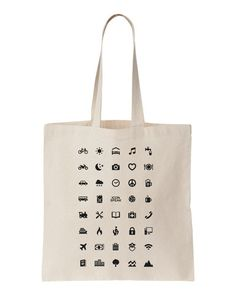 ICONSPEAK World Bag with 40 icons universal to communicate in the whole world!!