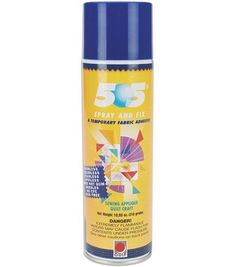 505 Spray  for Basting quilts - can use your wall. Put newspaper around the outside area so when you spray the wall is not covered with the adhesive.