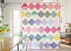 Free pdf Pattern - Simply Eden Quilt by Tula Pink