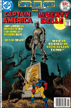 Super-Team Family: The Lost Issues!: Captain America and Liberty Belle