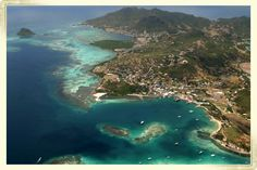 Union Island in the French West Indies.  Beautiful Chatham Bay is on the leeward side of the island.  Great anchorage for swimming & snorkling.