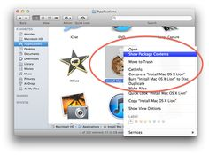 How to create an OS X Lion installation disc