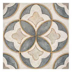 Shop Now Mullholland - Charcoal Limestone Tile Limestone Tile, Stone Tiles, Stone Tile Flooring, Stone Mosaic, Stencil, Motif Art Deco, Tile Design, Pattern Art, Holland