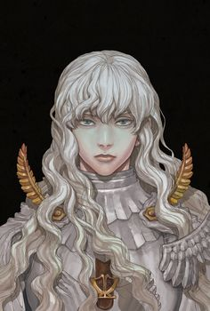 Tags: DigitalART Manga Fanart Anime Berserk Griffith Hawk of Darkness White Hawk Manga Anime, Manga Art, Anime Art, Dark Fantasy, Fantasy Art, Final Fantasy, Character Inspiration, Character Art, Character Design