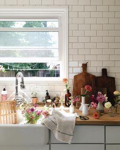 This Ivy House - simply-divine-creation: Jessica. Design Room, House Design, Interior Exterior, Interior Design, Kitchen Design, Kitchen Decor, Sweet Home, Boho Home, Ivy House