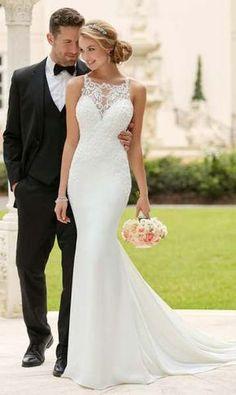 wedding dress Meerjungfrau Brautkleid: Das 50 sind die schönsten #weddingdress