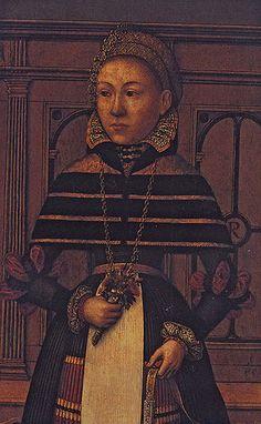 Ludger Tom Ring - Retrato de la condesa Margarita de Münchhausen, c. 1570. Look at that gollar/pelisse!