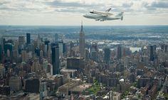 Enterprise flying over NYC!