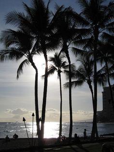 #Hawaii - #WaikikiBeach