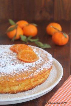 Bizcocho esponjoso de mandarina / https://cocinadeandarporcasa.blogspot.com.es/