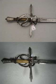 Hand and a half riding sword, german, circa 1580