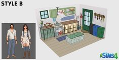 Sonda - Akcesoria Eko-życie w The Sims 4 - DOTsim