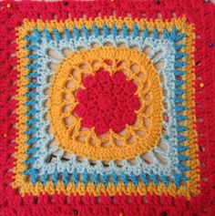 Ravelry: Project Gallery for Free SmoothFox's Amethyst Square 12x12 pattern by Donna Mason-Svara