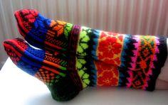 Tricot socks-stockings(4)