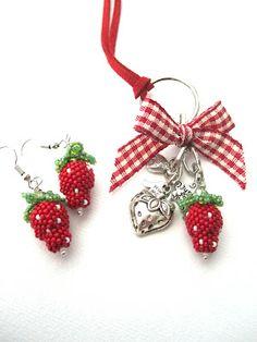 Perlen: Erdbeerzeit