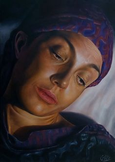 Adel Elliethy - egypt Oil painting Canvas 50*70