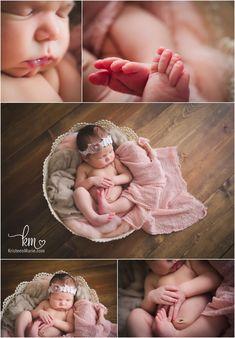 newborn photography - newborn girl photography poses - Indianapolis newborn photography