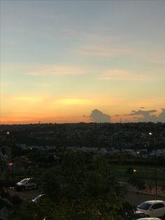 Pôr do sol em Uberlândia