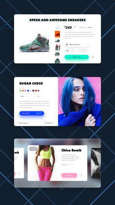 Welcome to Daily UI Elements for 100 days straight (including weekends and holidays). This is day Our challenge for today is a Product Cards. I invite you all to rebound this shot and create your own visual exercise. Gui Interface, User Interface Design, Fashion Web Design, Design Web, Card Ui, Mobile App Design, Mobile Ui, Ui Design Inspiration, Ui Elements