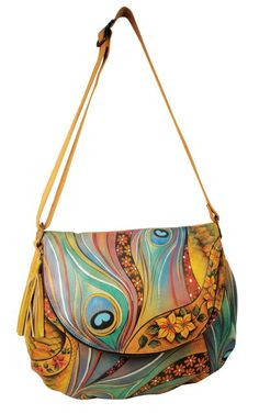 Love Anuschka's hand-painted leather bags!
