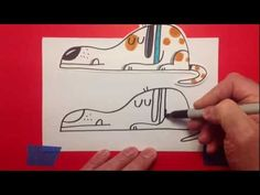 How-to draw cartoon dog. How to draw cartoons + art lessons on http://icandoodle.com/  Drawing lessons with Travis Foster.  Travis is the author and illustrator of the i can doodle books. Published by Blue Apple Books.