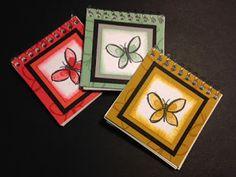My Creative Corner!: Garden in Bloom  mini notebooks