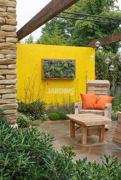 Tout peut se recycler pour créer un jardin design écologique |LES PLUS BEAUX JARDINS | La décoration d'extérieur nouvelle tendance