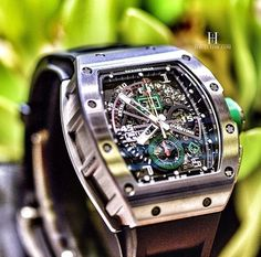 Richard Mille #luxurywatches