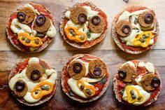 Vegan Zomberoni Pizza Faces
