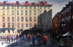 Stefan Gadnell, Stortorget, Stockholm, SÅLD