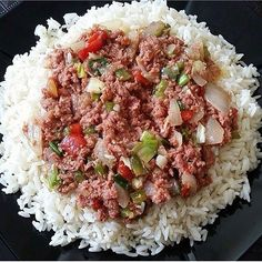 Yum! When was the last time you had bully beef? Recipe at http://jamaicans.com/bullyb/  by @skkanme #bullybeef #cornedbeef #foodporn #jamaicanfood #jamaicanrecipes #wejaminate