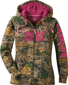 Camo jacket w/ hot pink. My birthday is next week if anyone is looking for ideas!!! Wink wink.