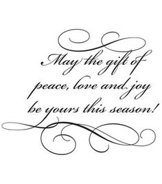 """Penny Black Rubber Stamp 2.5""""X3""""-Gift Of Peace: stamps: stamping: scrapbooking: Shop 