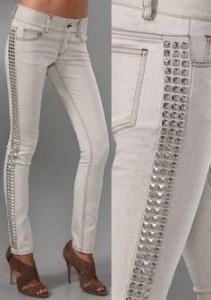 Studded Jean Jazz Up Your Jeans: DIY Denim Embellishments