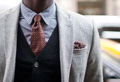 Brown + Black + Grey