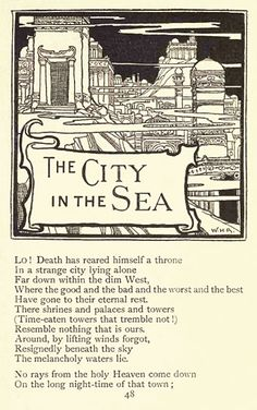 of the poems of Edgar Allan Poe from 1900 was illustrated by William Heath Robinson (1872–1944), an artist whose later cartoons of quirky inventions have completely overshadowed his earlier books and the work of his equally talented older brother, Charles.