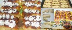 Jablečné řezy FANTAZIE | NejRecept.cz Waffles, Breakfast, Food, Morning Coffee, Meal, Essen, Hoods, Meals, Waffle