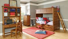 Lea Elite Logan County Twin Bunk Bed Bedroom Set $3,420.00