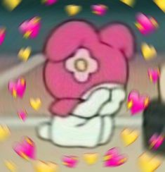Heart reaction meme - Ready to geek? Melody Hello Kitty, My Melody, Look Wallpaper, Heart Meme, 8bit Art, Cute Love Memes, Pretty Meme, Cute Messages, Anime Expressions