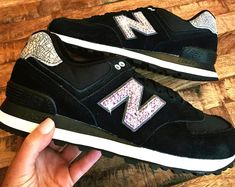 New Balance 574 - Swarovski New Balance - Bling New Balance - Bling Shoes - Blinged Shoes - Swarovski shoes-Custom Shoes Mother Day Gifts, Gifts For Mom, Bling Shoes, New Balance 574, Perfect Gift For Mom, Mom Birthday, Custom Shoes, Fashion Design, Fashion Tips