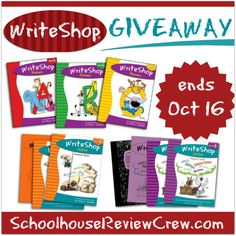 WriteShop Giveaway!  Ends October 16th, 2014
