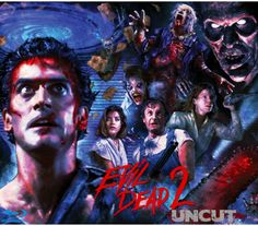 Evil Dead Poster art print Full bleed (No border) Signed by Horror Artist Joel Robinson Evil Dead Trilogy, Evil Dead Series, Evil Dead 1981, Ash Evil Dead, Zombie Movies, Scary Movies, Film Trilogies, Fan Poster, Animals