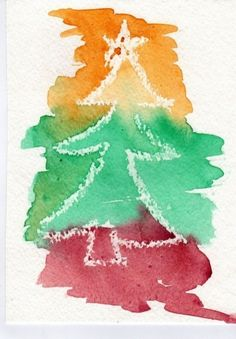 Simple for the Holidays, handmade watercolor Christmas cards, finished in second… – Christmas DIY Holiday Cards Watercolor Christmas Cards, Christmas Card Crafts, Noel Christmas, Christmas Activities, Watercolor Cards, Homemade Christmas, Christmas Decorations, Simple Watercolor, Christmas Cards Handmade Kids